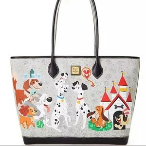 NWT Disney Dogs Dooney & Bourke Tote Large Bag LE